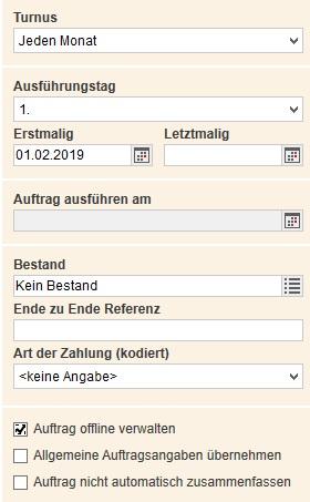 Dauerauftrage Einrichten Andern Oder Loschen Postbank 2